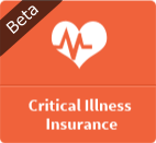 critical illness insurance beta button