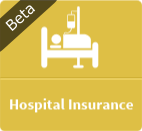 hospital medical insurance beta button