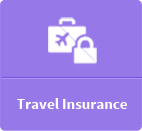 travel insurance button
